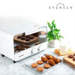 스벤슨 전기 미니오븐 토스터(화이트)