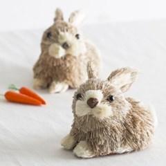 [데코봉봉]볏짚 토끼(소)