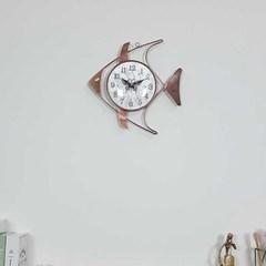 예쁜 엔틱 인테리어 pez 황동 벽시계 CH1546040