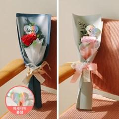 [1+1][LOVE픽 증정]벨라 한송이 왕장미 유칼리 로즈 꽃_(100880509)