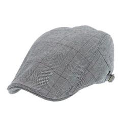 [플릭앤플록]IMH12.글렌체크 헌팅캡 남성 골프 모자