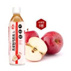 [행복담은식탁 ]단백질음료 프로틴기프트 사과맛 500mlx5병