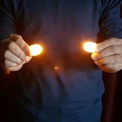 딜라이트노란불빛(살색덤팁-1쌍)