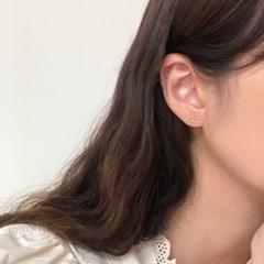 [92.5 silver] Birthmark earring