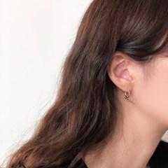 [92.5 silver] Solar earring