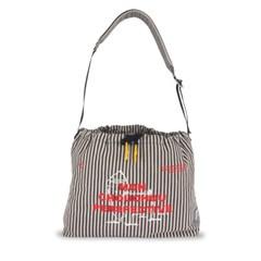 [monchouchou] MCC Perspective Sling-Bag Ivory Stripe