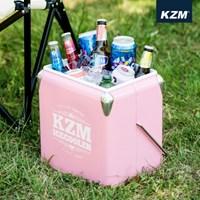 카즈미 큐브 아이스쿨러 13L 핑크 K7T3A016 / 아이스박스 쿨러백