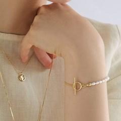 [매디]오프화이트 Pearl Bracelet