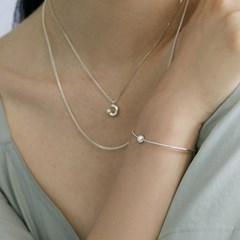 [매디]오프화이트 Simple Pearl Bracelet