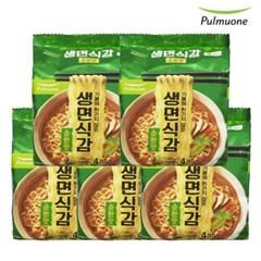 [풀무원]생면식감 순한맛 (4개입)x5봉 ,총20봉