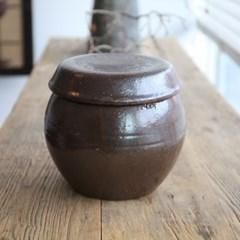 옹기 항아리 단지 3kg 소금항아리 현관소금