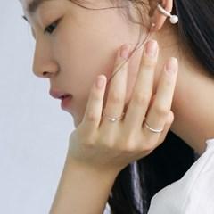 [매디]오프화이트 Pearl Chain Ring