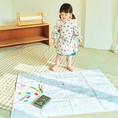 [따블리에] 쥬라기 파크 색칠공부 슈퍼 맵