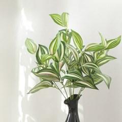 7대잎 달개비 40cm 조화 식물 장식 그린 인테리어 FAIBFT
