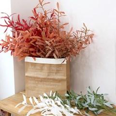 롱 리프 잎새 나뭇가지 조화