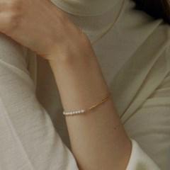 [매디]플로우 Pearl Chain Bracelet