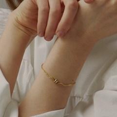 [매디]플로우 Wave Chain Bracelet