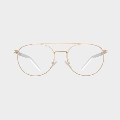 IRIS gold 안경테 코받침없는 특이한 울템 알없는_(1974190)