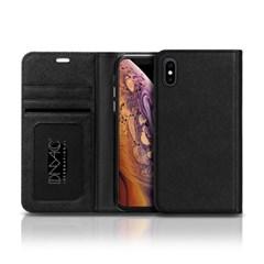 몽블랑 아이폰XS 플립커버 사피아노 뷰 핸드폰케이스_(3399400)
