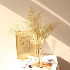 화이트 리얼 고사리잎 조화부쉬 인테리어장식