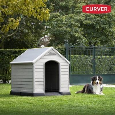 커버 도그하우스(소/중형견용) 조립식 강아지집/야외개집