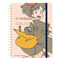 [마녀배달부 키키] Rollbahn 루반노트(마녀_핑크)