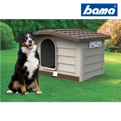 바마 도그하우스L(라지) 중형견용 조립식 강아지집/야외개집