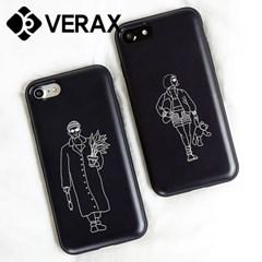 아이폰11 프루그나 아저씨와 소녀 하드 케이스 KP020_(2552807)