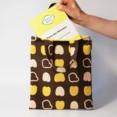 autumn-brown mini bag