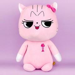 예스 아이 캣 봉제인형(60cm) (핑크)/캐릭터인형