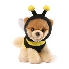 월드넘버원 꿀벌후드티 부 강아지인형