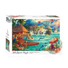 [액자포함]직소퍼즐 500조각 판타지 아일랜드 TA05-1009