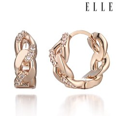14K 원터치 귀걸이 (gold pin) ELGPEE219RG_(950123)