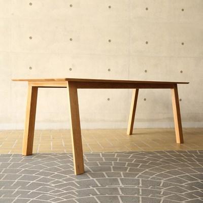 [오크]오크원목 블루보틀 다이닝 테이블 A다리 1600 4인테이블