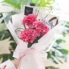 메리 카네이션 꽃다발 40cm P4 조화 어버이날 스승의날 선물 감사