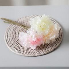 파스텔피오니가지o 27cm 조화 가지 꽃 장식 FAIAFT_(1743473)