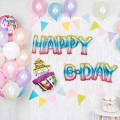생일파티 장식세트 [홀로그램 HAPPY B DAY]_(11969536)