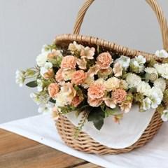 데이지 꽃 플라워 조화 예쁜 빈티지 인테리어 소품