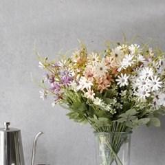 봄빛 데이지 꽃 플라워 조화 예쁜 빈티지 인테리어 소품