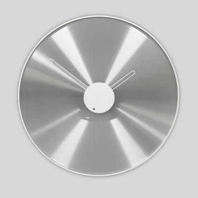 무소음 알루미늄 오브제 벽걸이 시계