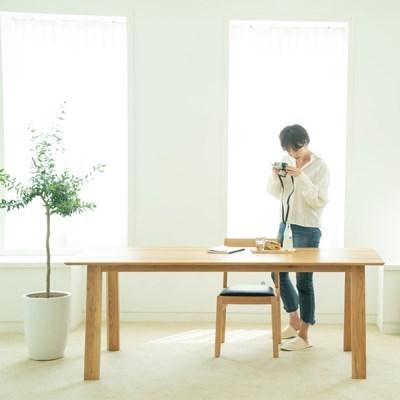 [오크]오크원목 블루보틀 다이닝 테이블 A다리 2200 8인~10인테이블