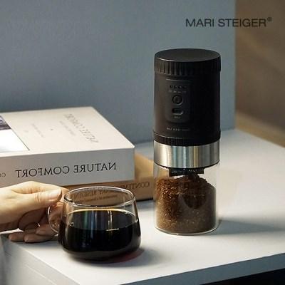 LUMI 전자동 커피 그라인더 블랙 B20