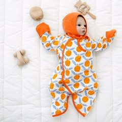 배냇슈트 배 아기 배냇가운 신생아 배냇저고리