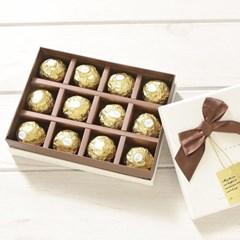 화이트데이♥ 페레로로쉐 리본 박스 선물세트 T12