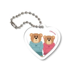 Couple hoodie bruin-white(keyring)_(1487888)