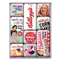 노스텔직아트[83106] Kellogg's - Happy Hostess Corn Flakes