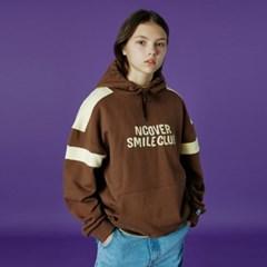 Smile club hoodie-brown_(1486858)