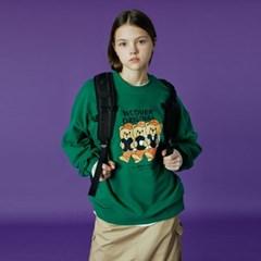 Alphabet bruin sweatshirt-green_(1488234)