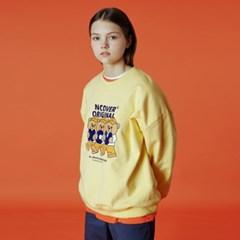 Alphabet bruin sweatshirt-yellow_(1488233)