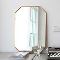 어썸프레임 알루미늄 와이드 벽거울